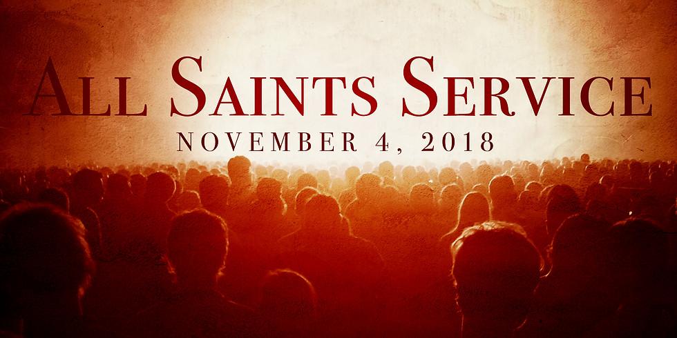 All Saints Service