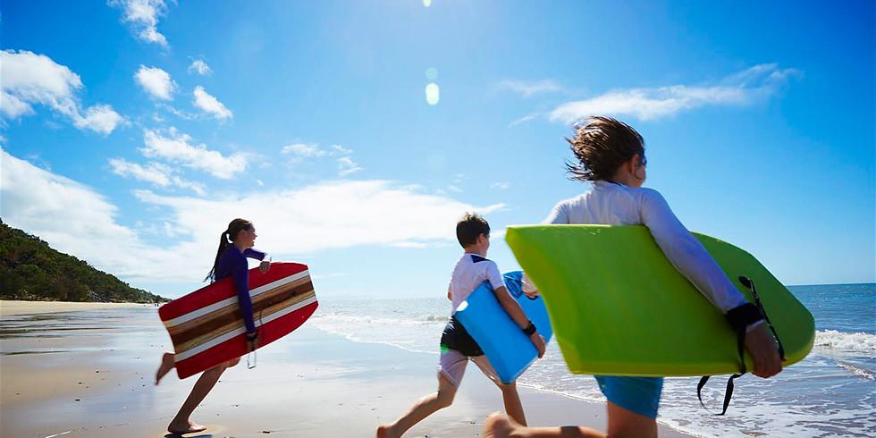 Trinity Student & Kid's Beach Trip
