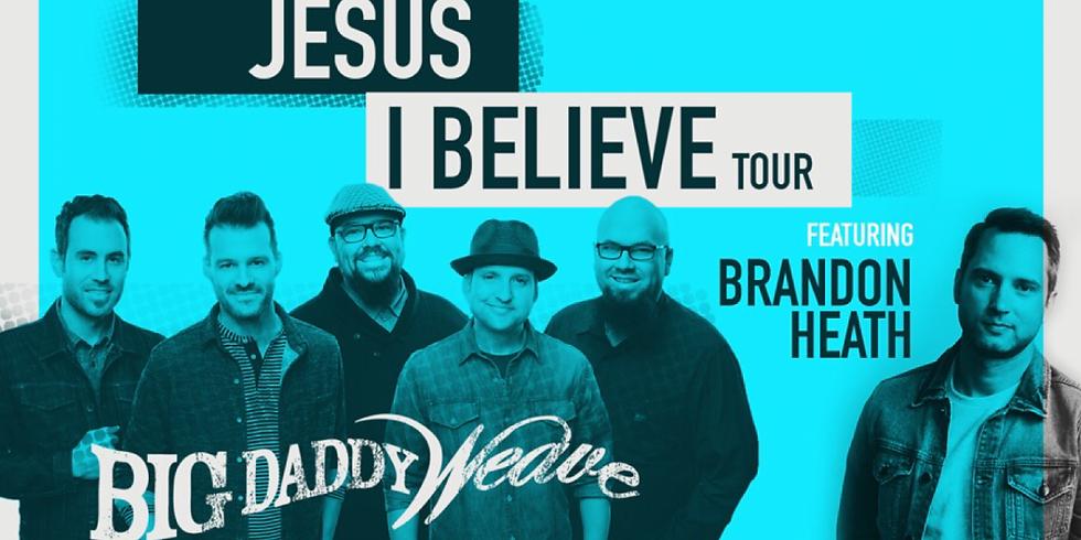 Big Daddy Weave Concert