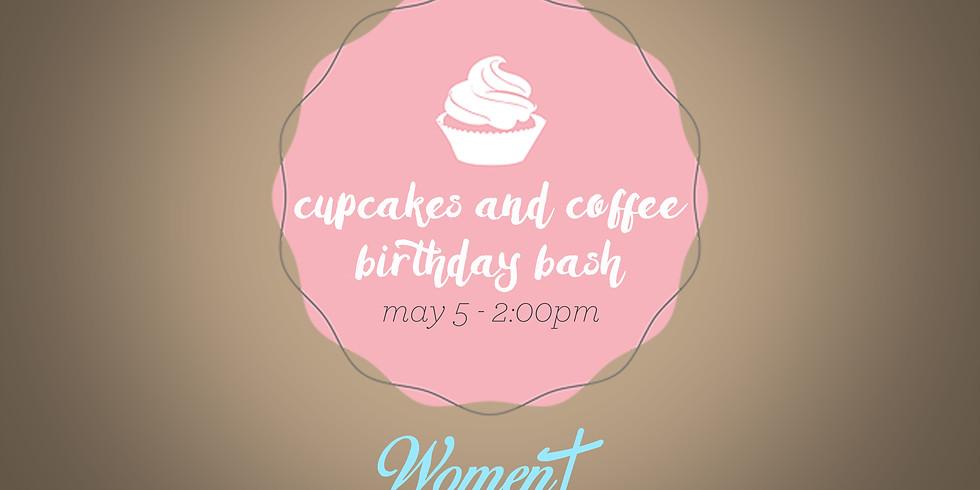 Cupcakes & Coffee Birthday Bash