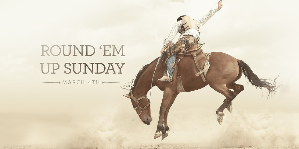 Round 'Em Up Sunday