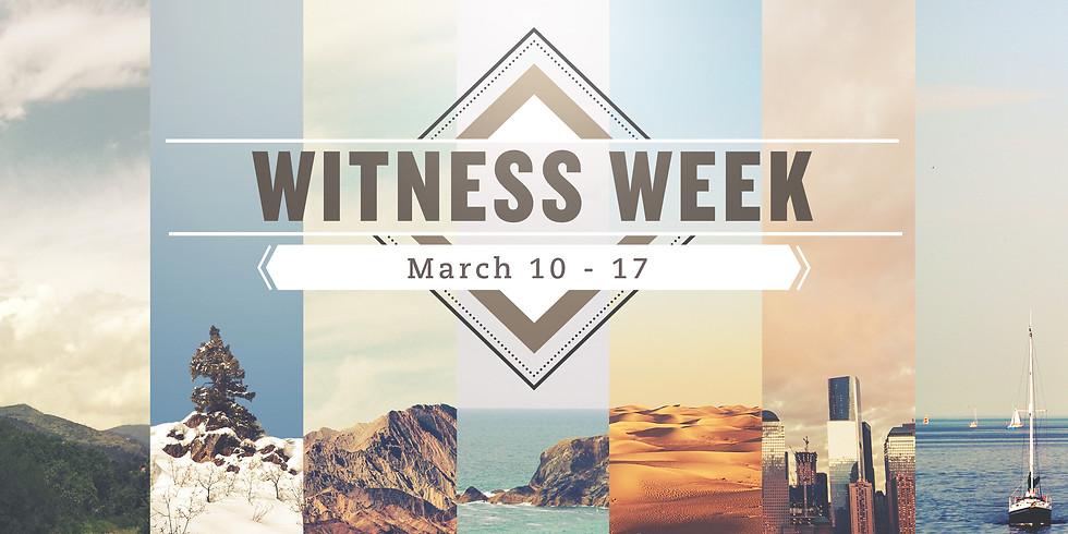 Witness Week