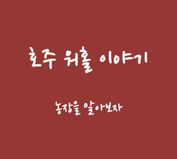 [호주 워홀 이야기] 농장 편