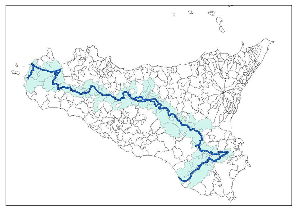 Foto Divulgaçao. Mapa da expediçao