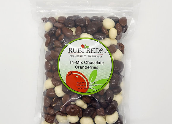 Tri-Mix Chocolate Cranberries
