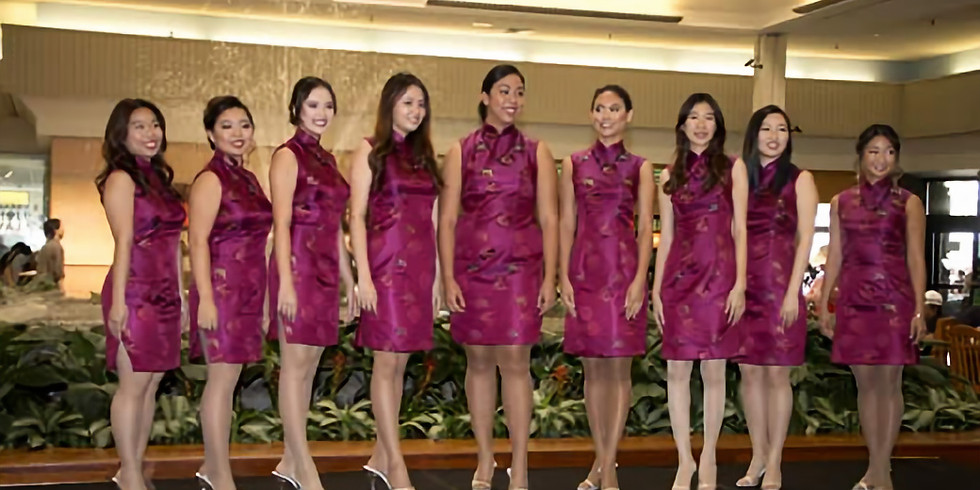 NEW DATE: Narcissus Pageant Contestants Public Appearance - Ala Moana Center
