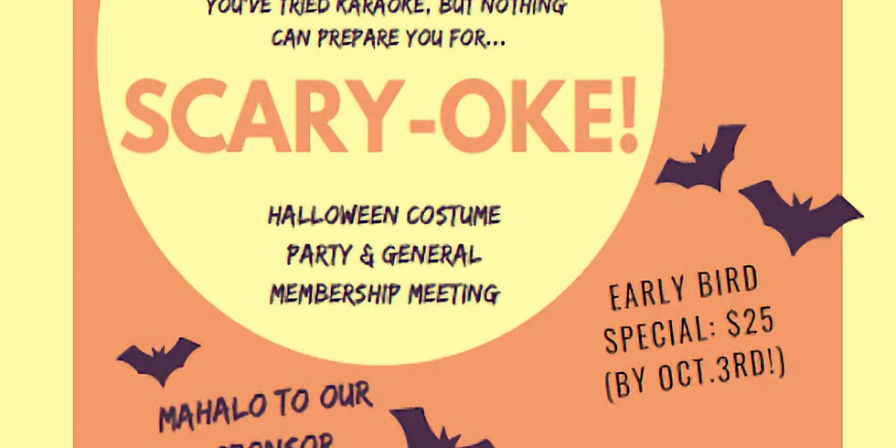 Scary-Oke! - October Networking & GMM Party