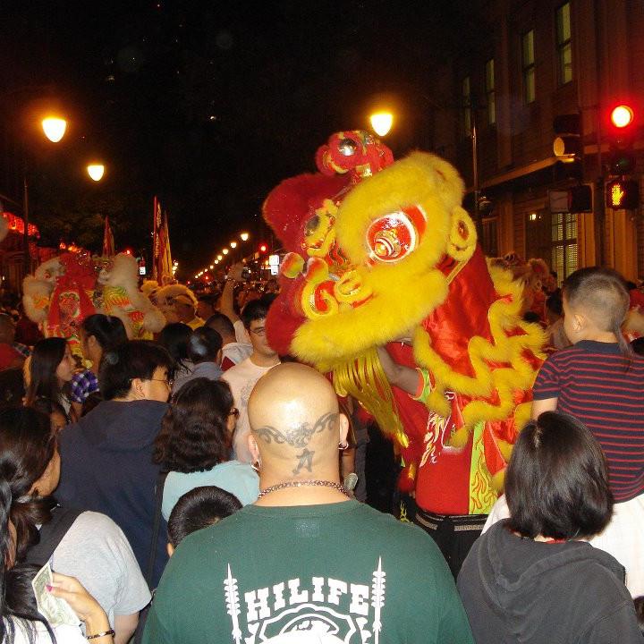 Choy Cheng - New Year's  Chinatown Visitation