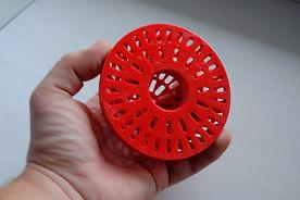 Пластиковая кормушка для рыб