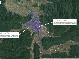 GPS情報 J0097♂ 2019.9.4.18:00~2019.9.11.16:00