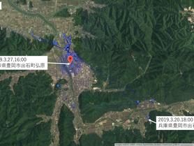 GPS情報 J0097♂ 2019.3.20.18:00~2019.3.27.16:00