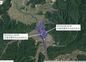 GPS情報 J0097♂ 2019.8.21.18:00~2019.8.28.16:00