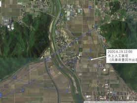 GPS情報 J0097♂ 2020.6.18.8:00~2020.6.19.12:00