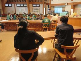 コウノトリ文化館で「コウノトリ市民科学の説明会」をさせていただきました。