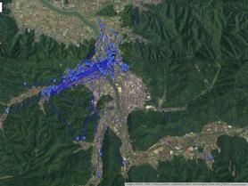 GPS情報 J0097♂ 2020.5.26.18:00~2020.6.18.8:00