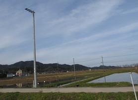 京都府京丹後市 市場人工巣塔巣台が完成しました。