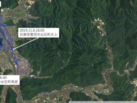 GPS情報 J0097♂ 2019.11.6.18:00~2019.11.13.16:00