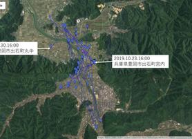 GPS情報 J0097♂ 2019.10.23.18:00~2019.10.30.16:00