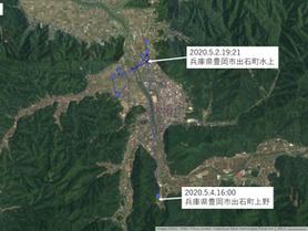 【再開】GPS情報 J0097♂ 2020.5.2.19:21~2020.5.4.16:00