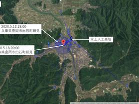 GPS情報 J0097♂ 2020.5.12.18:00~2020.5.18.20:00