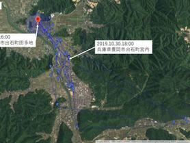GPS情報 J0097♂ 2019.10.30.18:00~2019.11.6.16:00