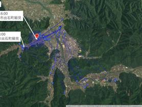 GPS情報 J0097♂ 2019.6.12.18:00~2019.6.19.16:00