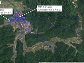 GPS情報 J0097♂ 2019.5.29.18:00~2019.6.5.16:00