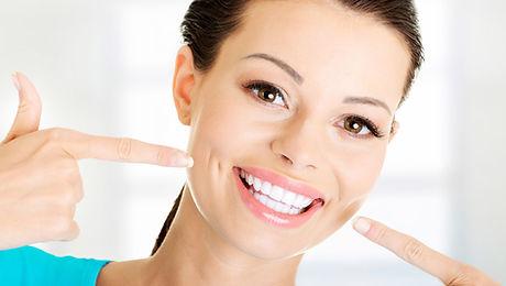 smile showing teeth