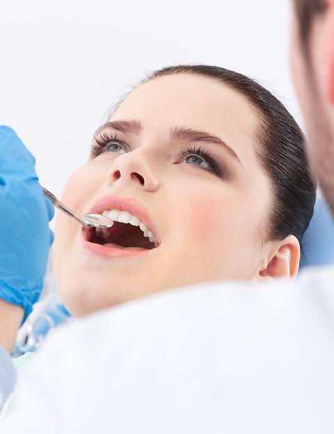 dental checkup by dentist