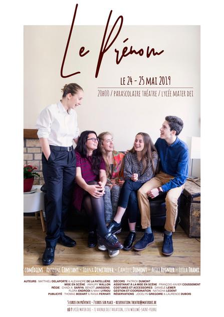 Pièce de Théâtre 2019