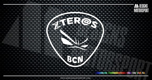Adhesivo Zeter@s Bcn / 1 color
