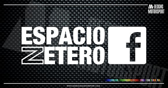 Adhesivo Espacio Zetero / 1 color