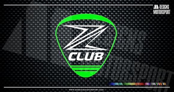 Adhesivo Z Club Kawasaki / 2 colores