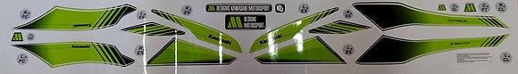 Kit LINE BASIC decoración Z900 / candy yellow green & white