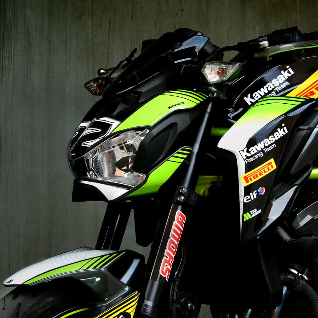 Sticker kit cup1 kawasaki z900