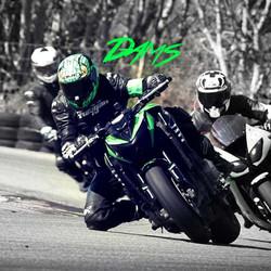 Sticker dams Kawasaki z800