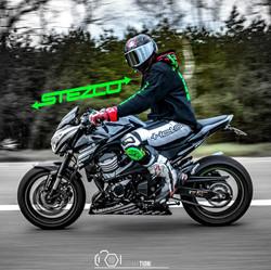 Sticker stezco Kawasaki z800