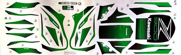 Kit LINE RACING decoración Z900 / light green