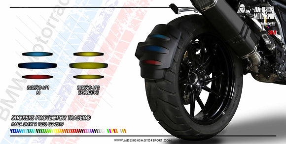 Stickers protector trasero R1250GS