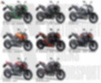 muestra de z800 colores en paleta para f