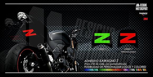 STREET Z paso de rueda z750