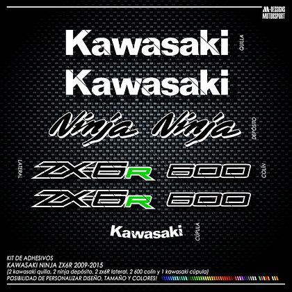 Logos ZX6R 2009-2015