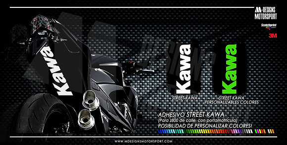 STREET KAWA paso de rueda z800