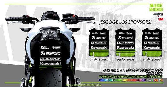 Adhesivo STREET paso de rueda z650
