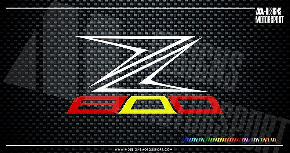Adhesivo Z800 España / bandera