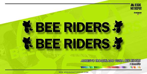Adhesivo visera BEE RIDERS