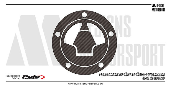 Protector tapón depósito PUIG XTREM Z650 Z900