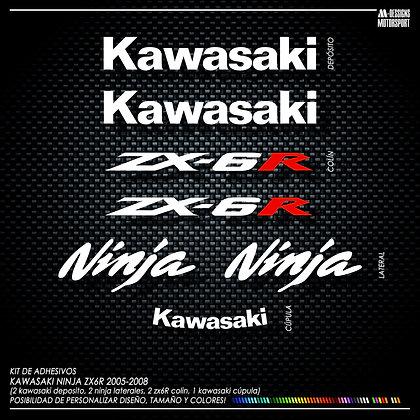 Logos ZX6R 2005-2009
