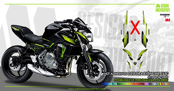 Kit sport LINE decoración z650 SIN PASO DE RUEDA