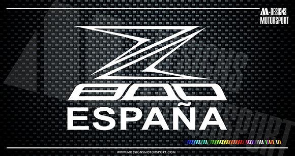Adhesivo Z800 España / 1 color